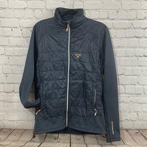 Tenson 51 womens gray winter jacket size large